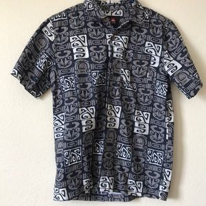 Quiksilver Boys Aloha shirt size. Large/14